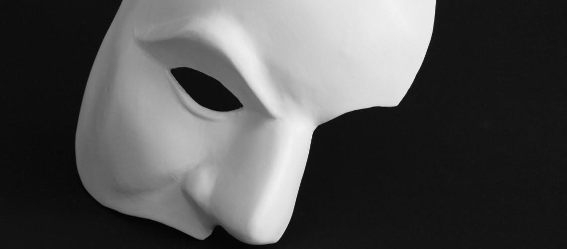 Maske vom Phantom der Oper